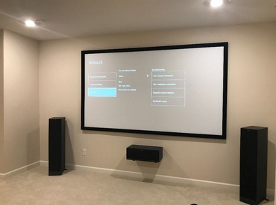 Set up a projector
